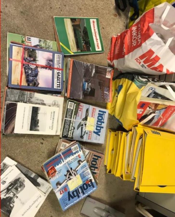 Tidningar Hobby, järnväg, spårväg