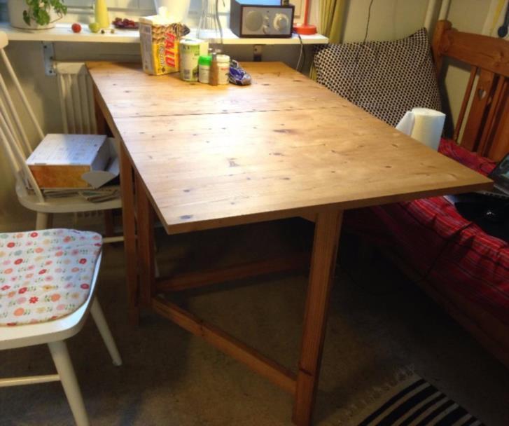 Klaffbord för köket BORTSKÄNKT