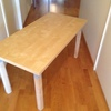 Skrivbord litet med träben