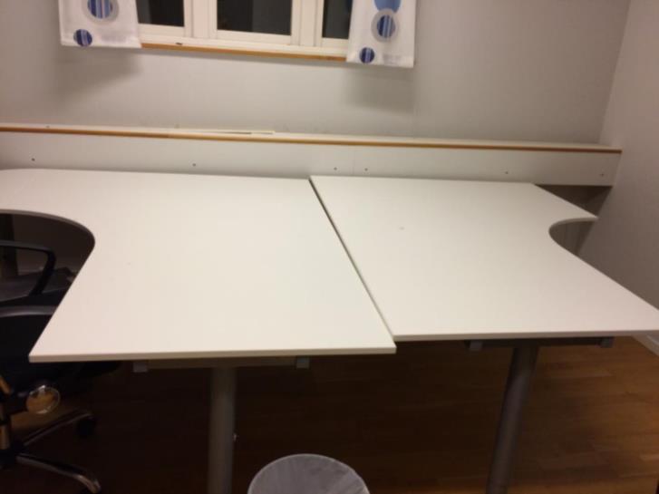 Kontors bordet stolar