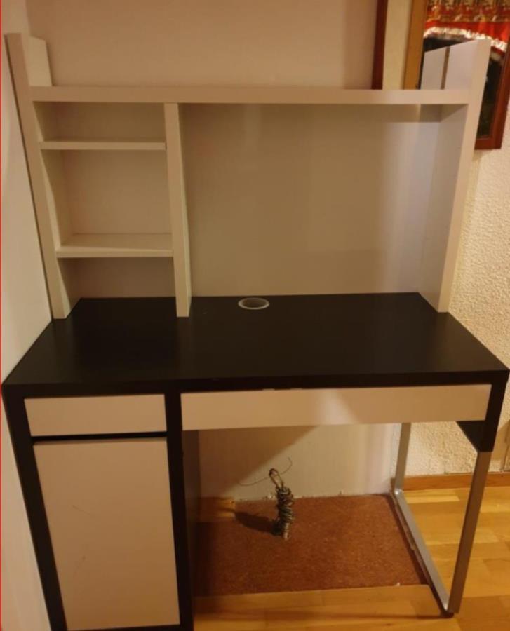 Skrivbordet MICKE från IKEA