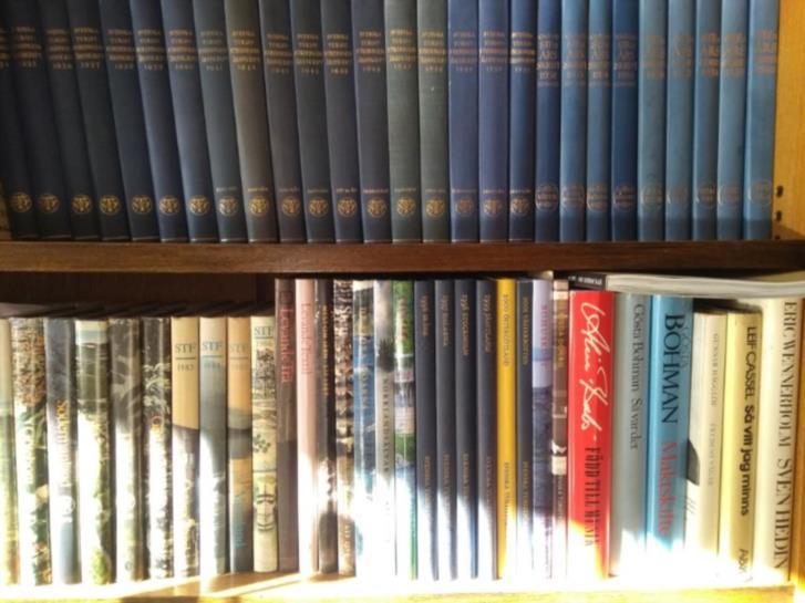Svensk Turistförenings årsböcker från 1915-2001