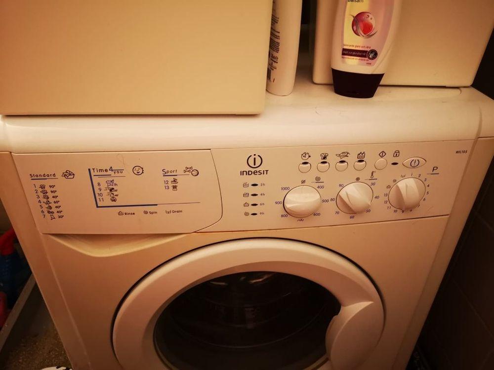 Tvättmaskin med torkfunktion