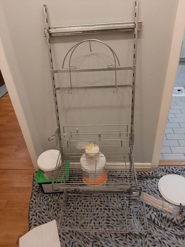 IKEA - UTRUSTA Städskåpsnredning