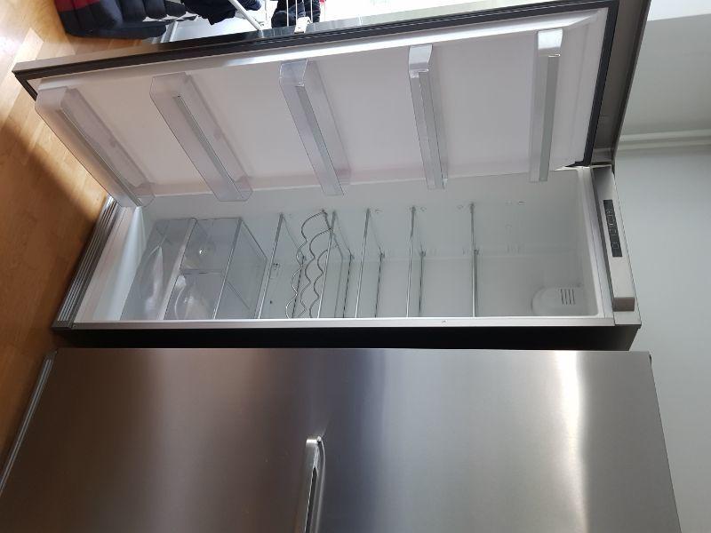 Kylskåp och Frys Asko Borstat stål
