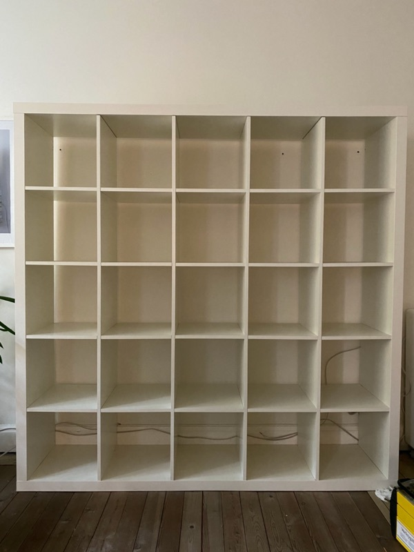 KALLAX bokhylla från IKEA