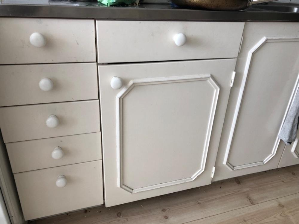 Köksluckor, helt underskåp
