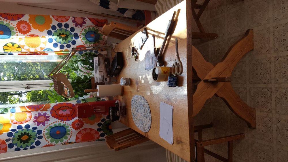 Matbord i furu