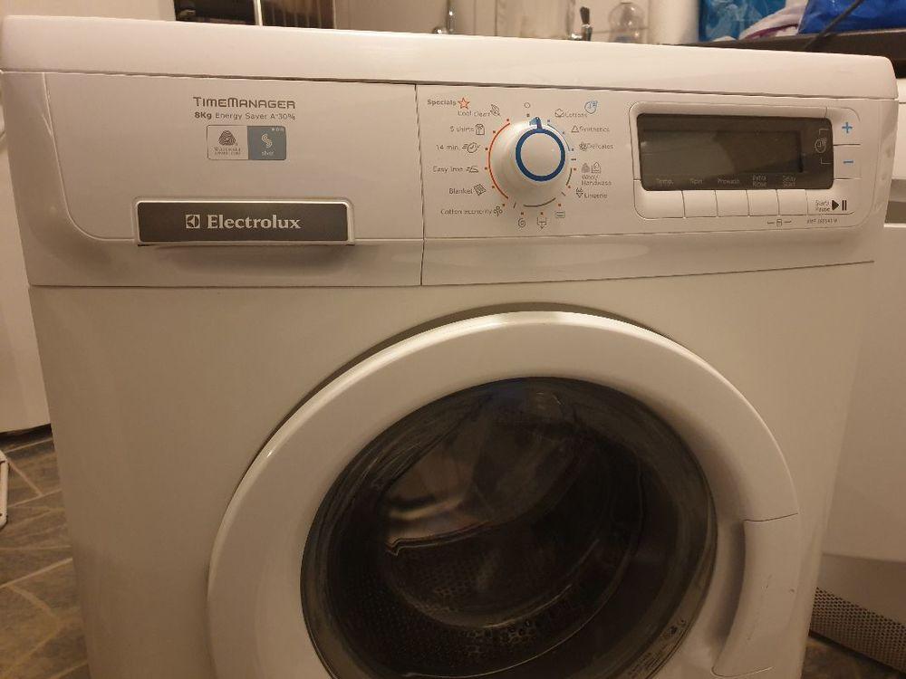 Electrolux tvättmaskin 8kg 1600varv
