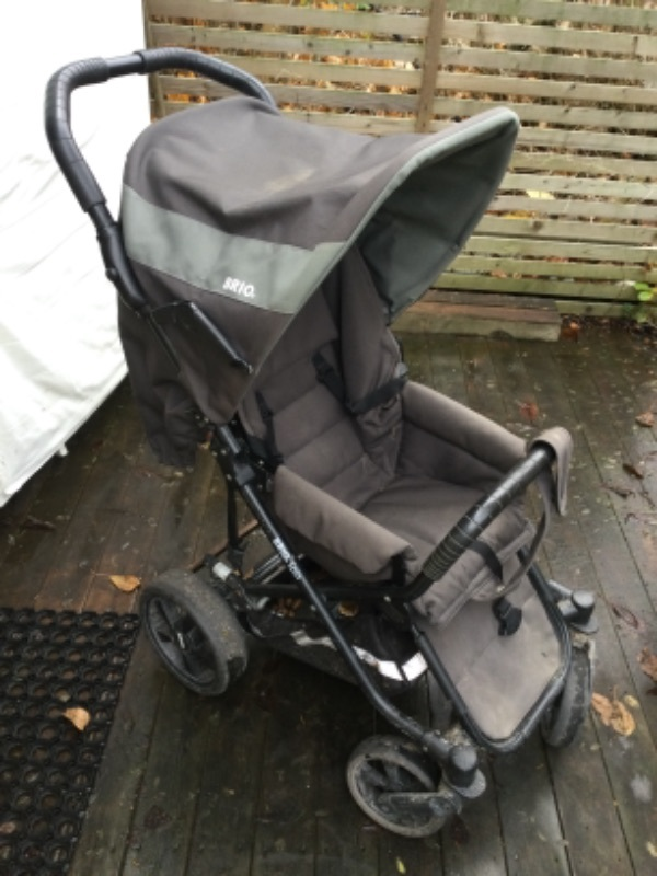 Brio spin barnvagn