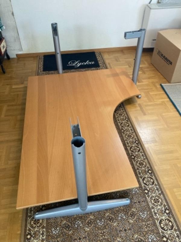 Hörnskrivbord IKEA (90-tal)