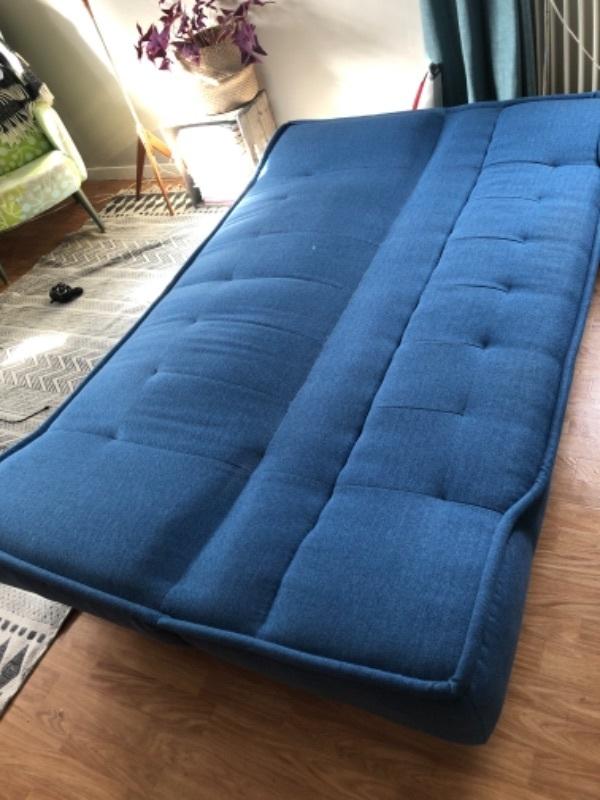 (Bädd)soffa bortskänkes