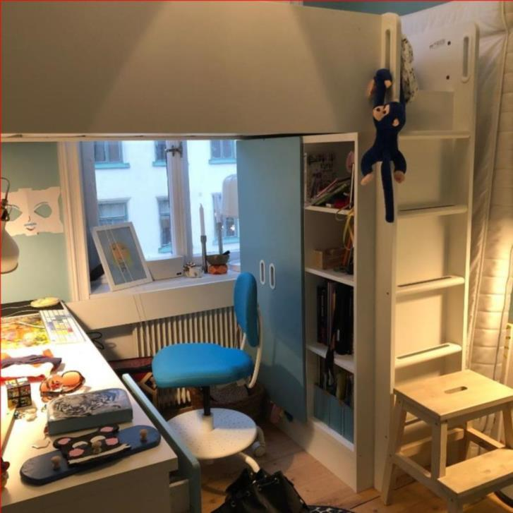 Loftsäng Stuva från IKEA