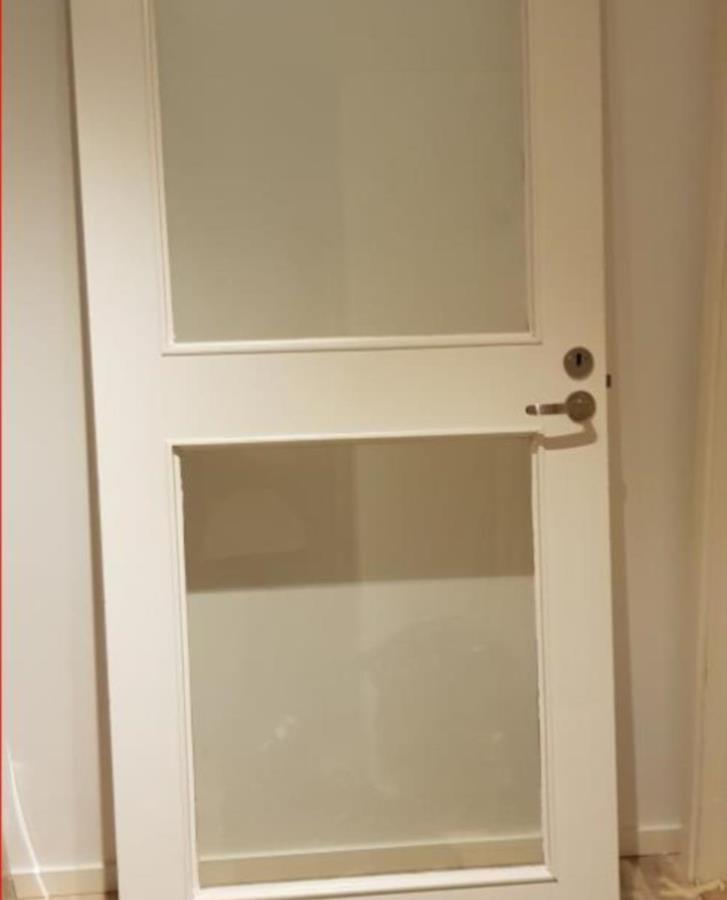 Glasad dörr med kram 210x90