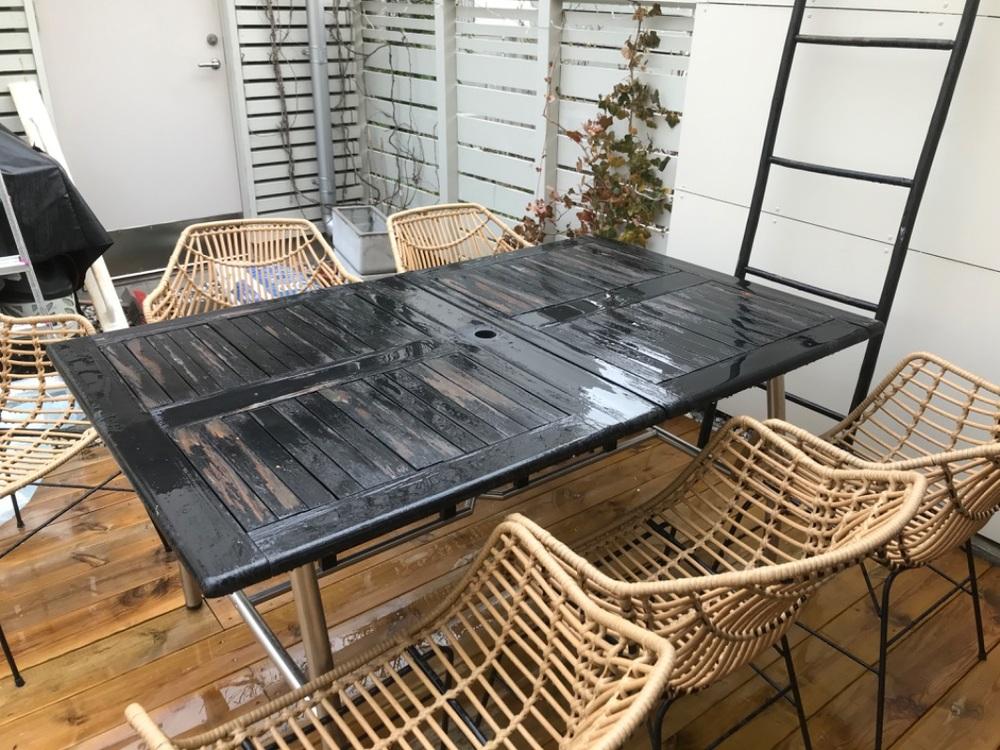Matbord ute