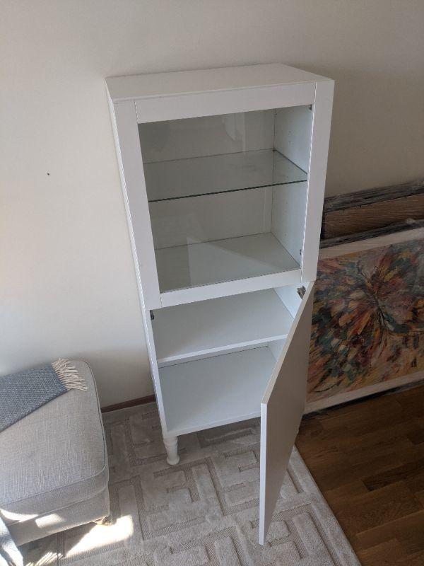 Ikea vitrinskåp