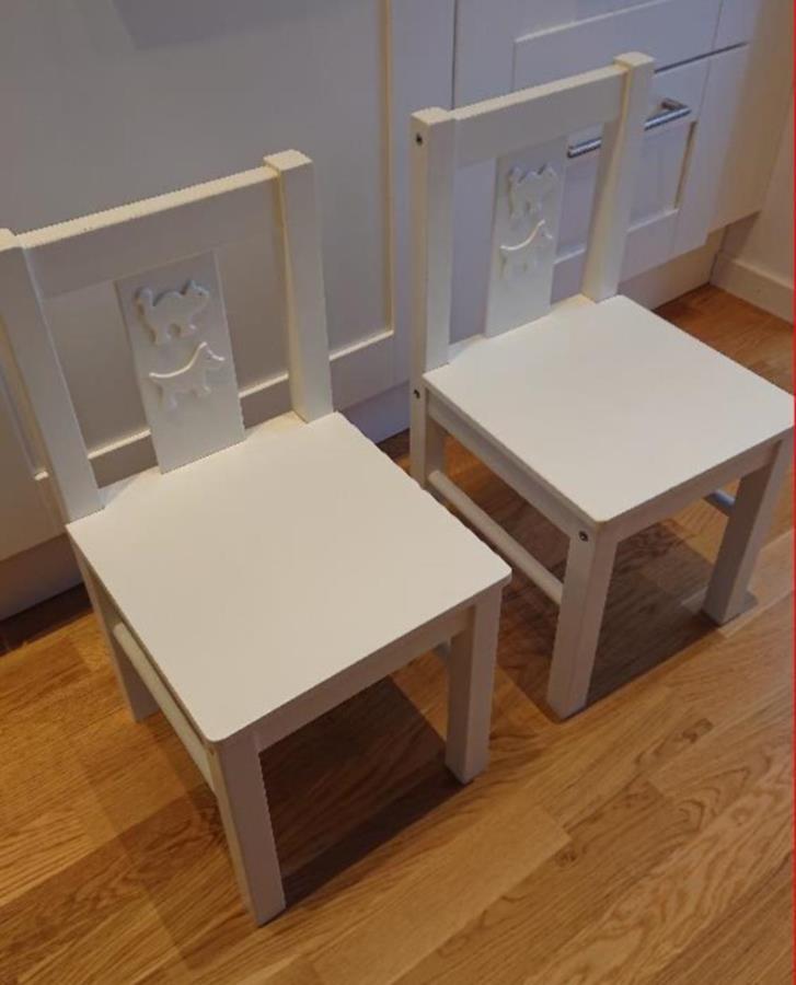 IKEA barnstolar Kritter 2st