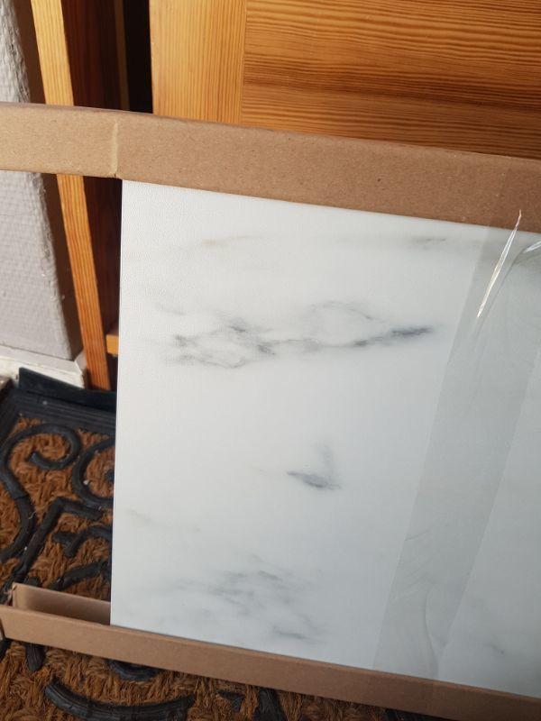 Väggplatta SIBBARP marmormönstrad