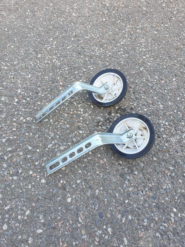 Stödhjul till cykel