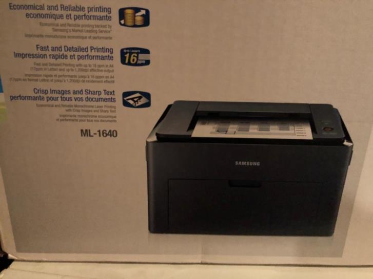 Laserskrivare Samsung ML-1640