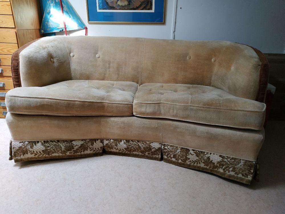 Liten amerikansk soffa i bra skick
