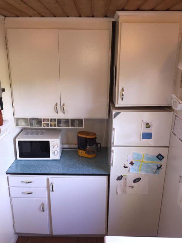 Köksöverskåp från 1960-talet