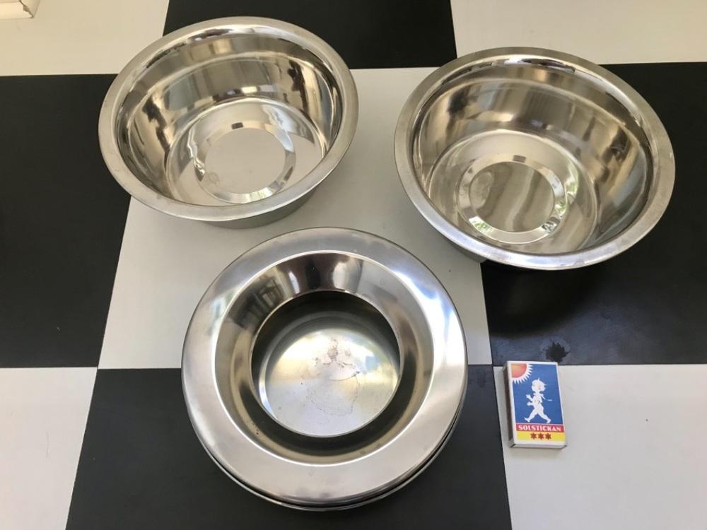 3 hundmatskålar