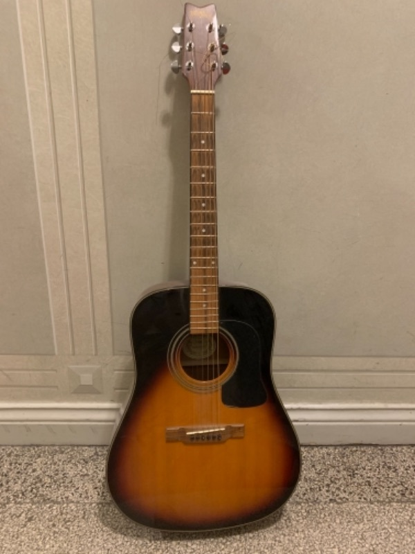 Gitarr vänsterhänt