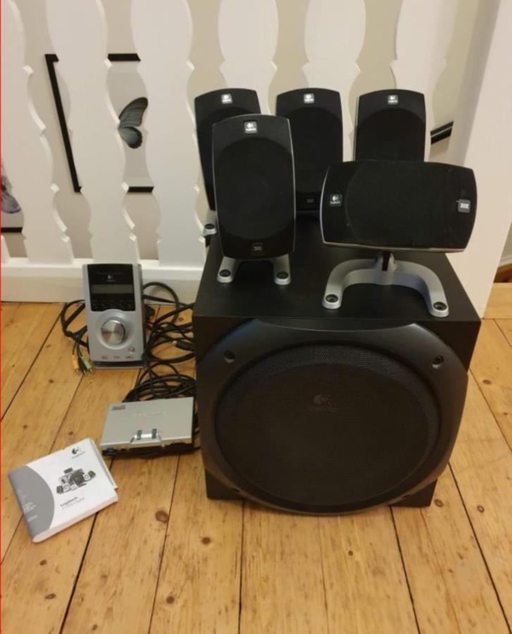 5.1 surround system Logitech Z-5500