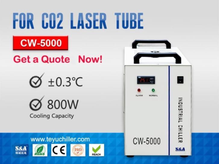 Industriell vattenkylare CW-5000