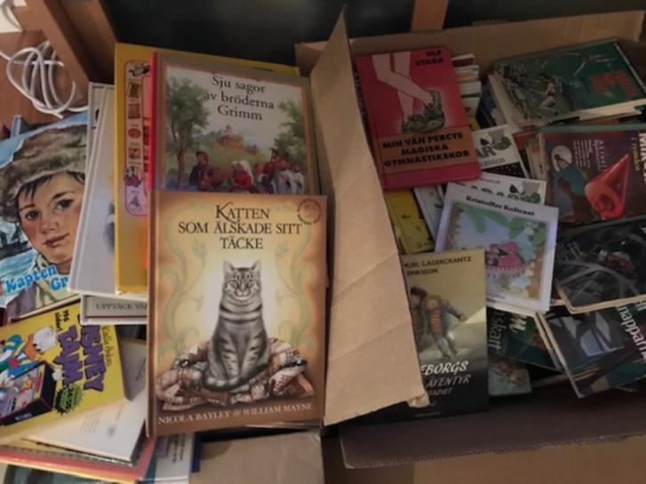 Barn-/ungdomsböcker (+ fakta och seriealbum)