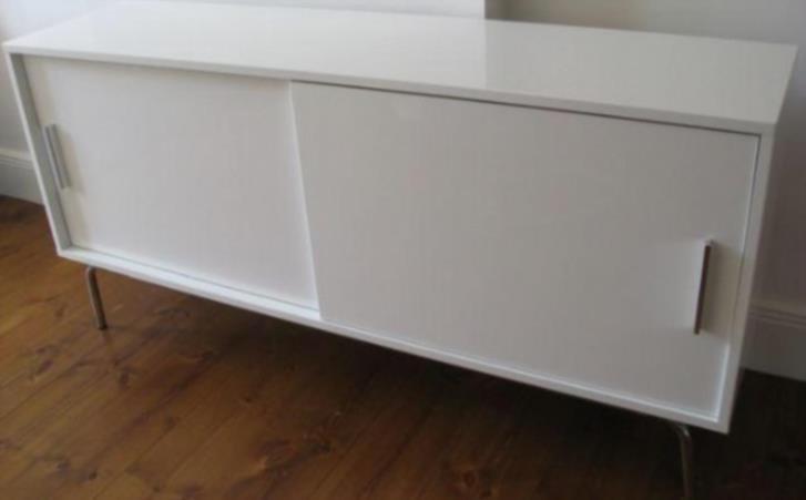 Bortskänkes IKEA Gideå sideboard vit