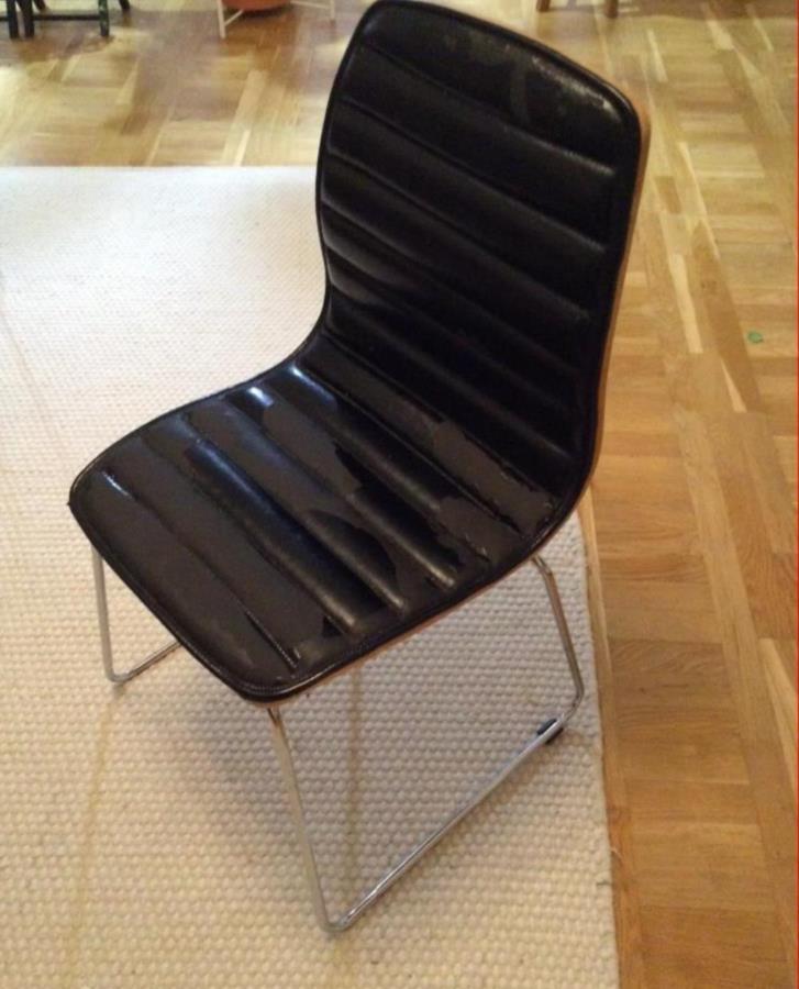 4 sköna stolar i ek
