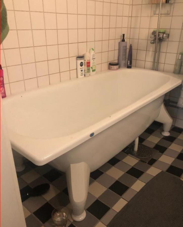 Vitt badkar