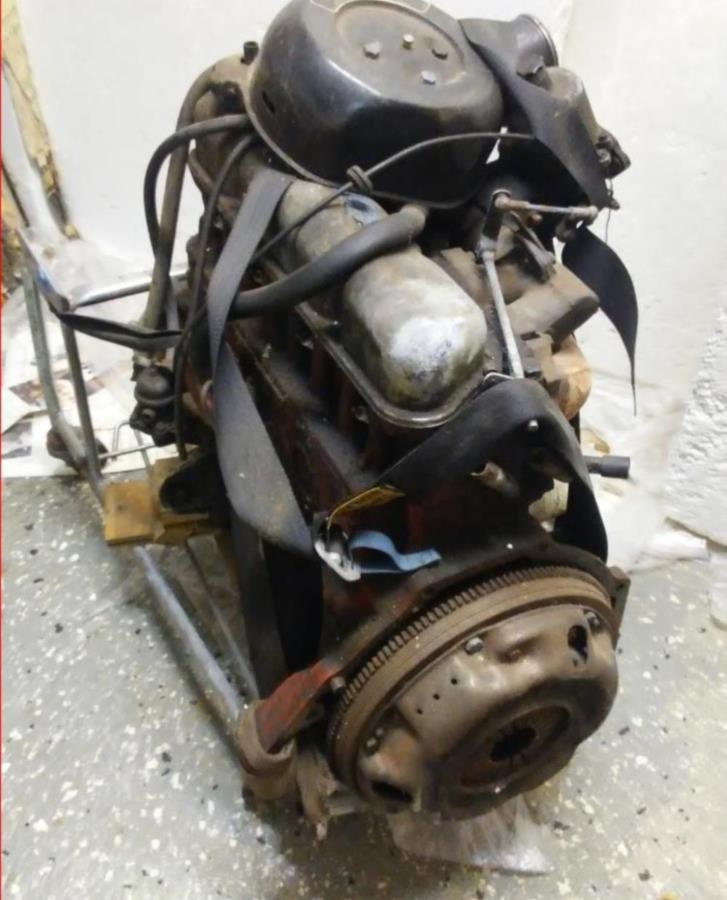 Volvo 140 motor