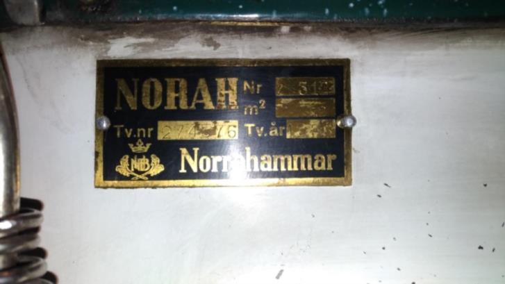 """Kökspanna Norrahammar """"köksnorah"""" fr 1958"""