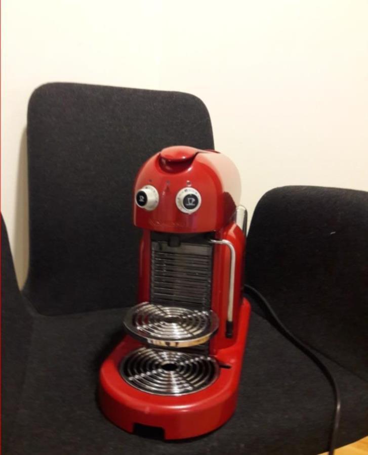 Nespresso kaffemaskin som inte fungerar