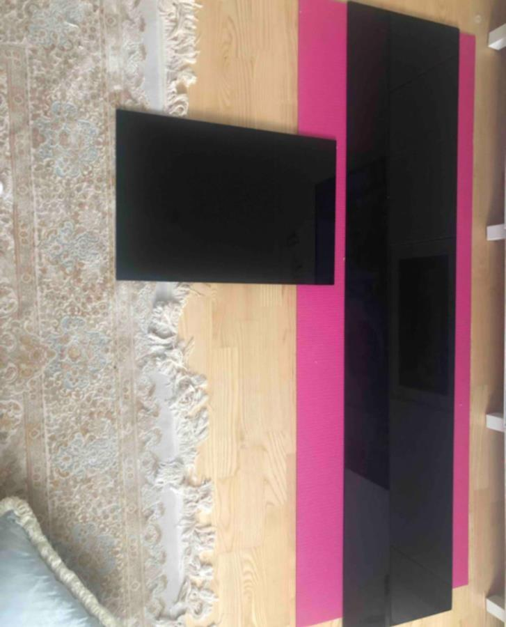 Ikea bestå glasskiva svart