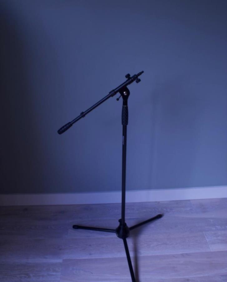 Mikrofonstativ - Inspelning - Hemstudio - Stockholm