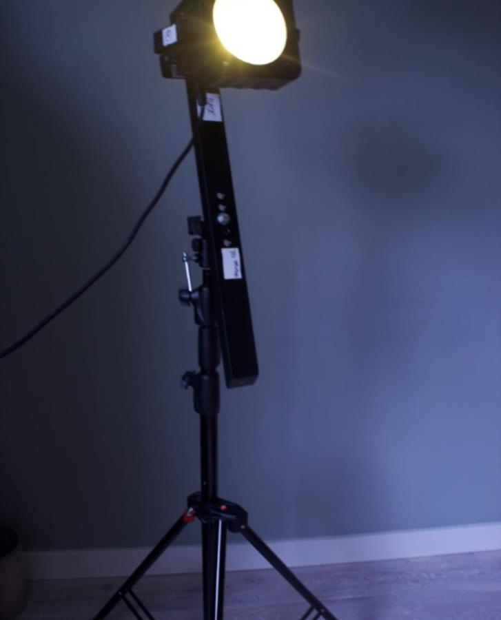 Lampa - Fotostudio - Filmproduktion - Stockholm
