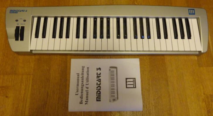 Midi-keyboard Midistart 3