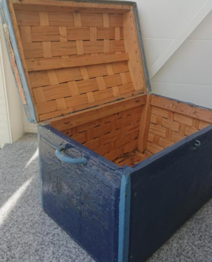 Koffert från 1800-talet