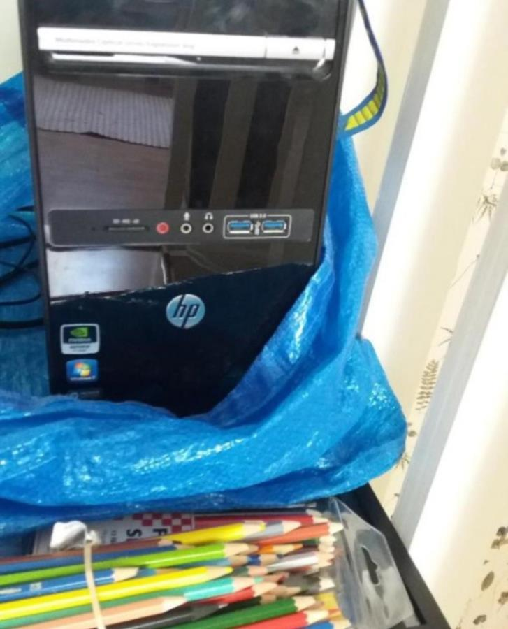 Reservdelsdator HP