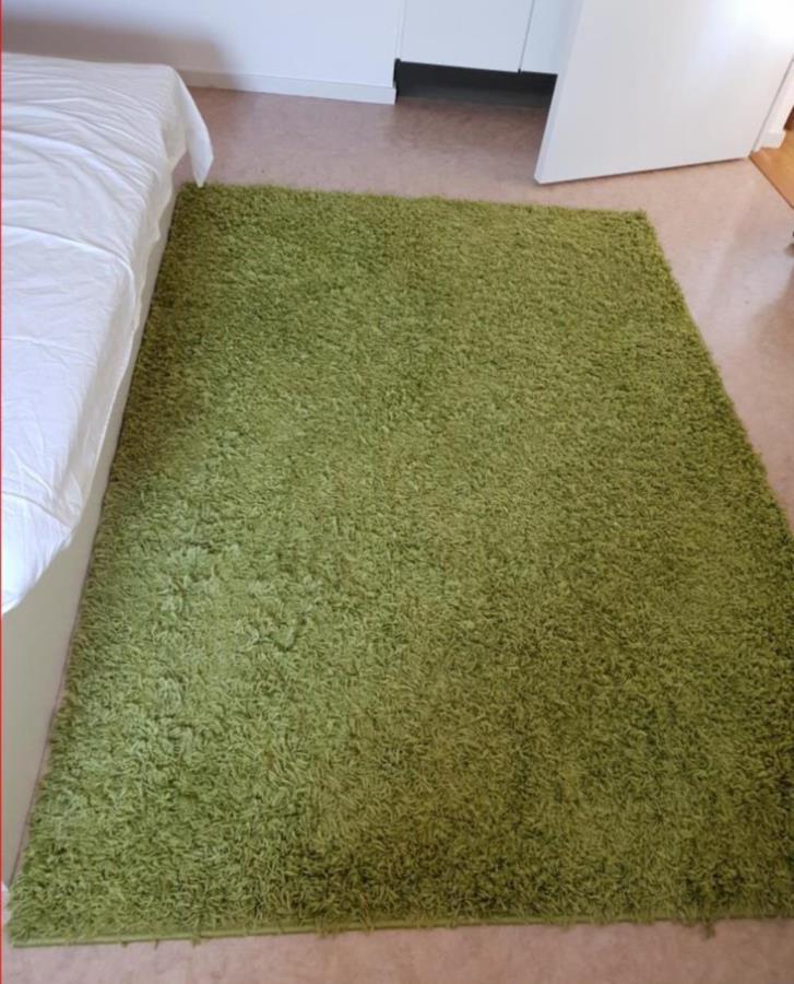 Grön matta